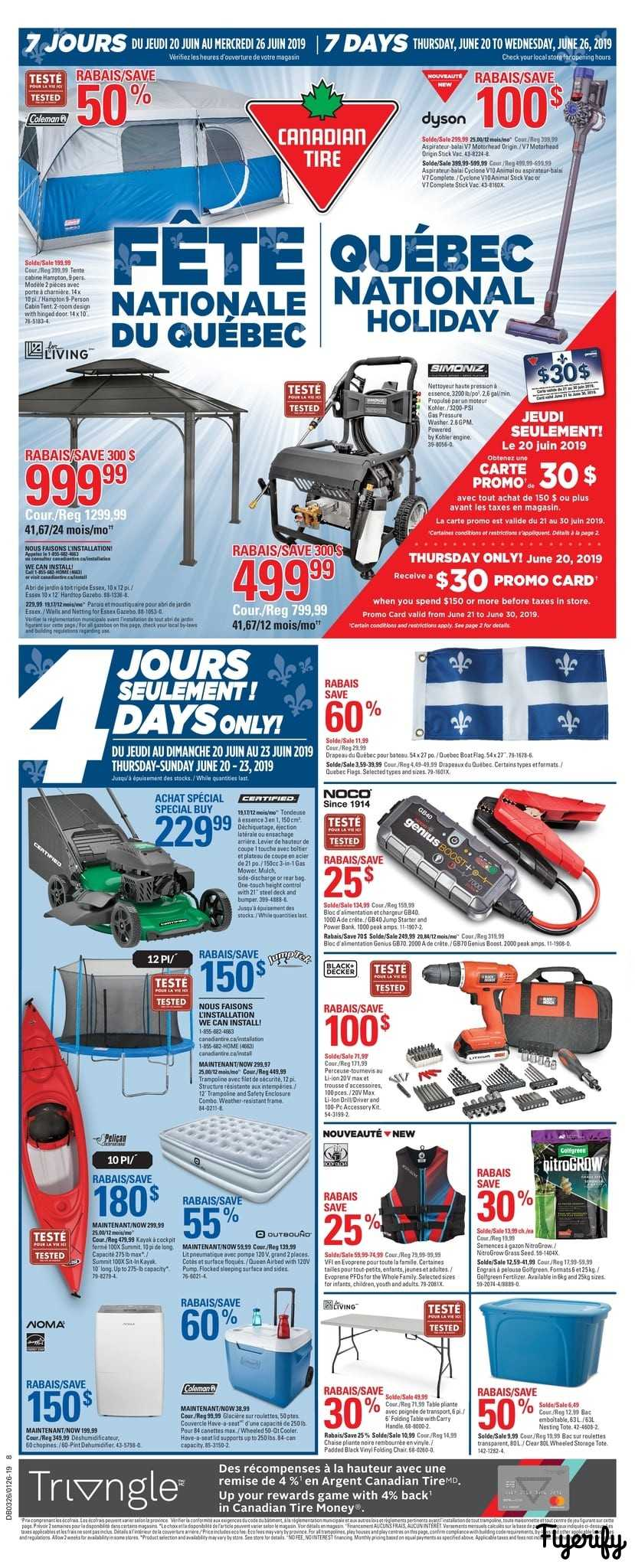 - Canadian Tire (QC) Flyer June 20 To 26 Canada