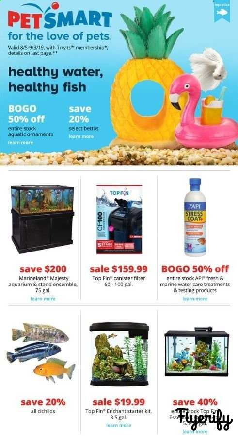 PetSmart Weekly Ad & Flyer August 5 to September 3 Canada