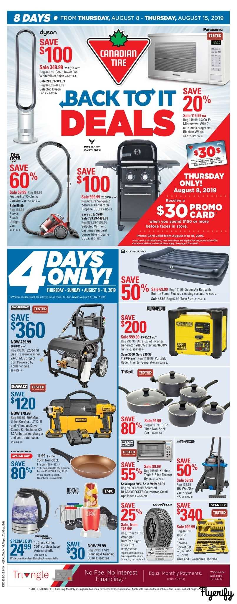 Canadian Tire Flyers