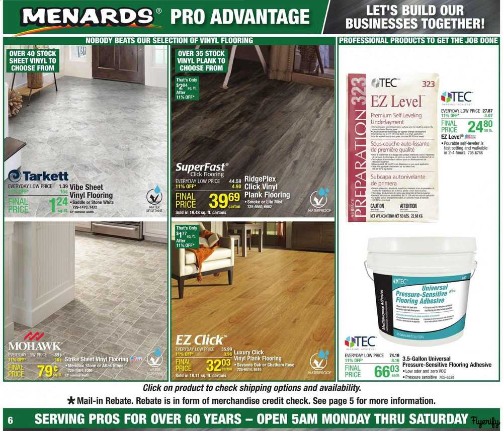 Menards Weekly Ad & Flyer August 11 to 17 Canada