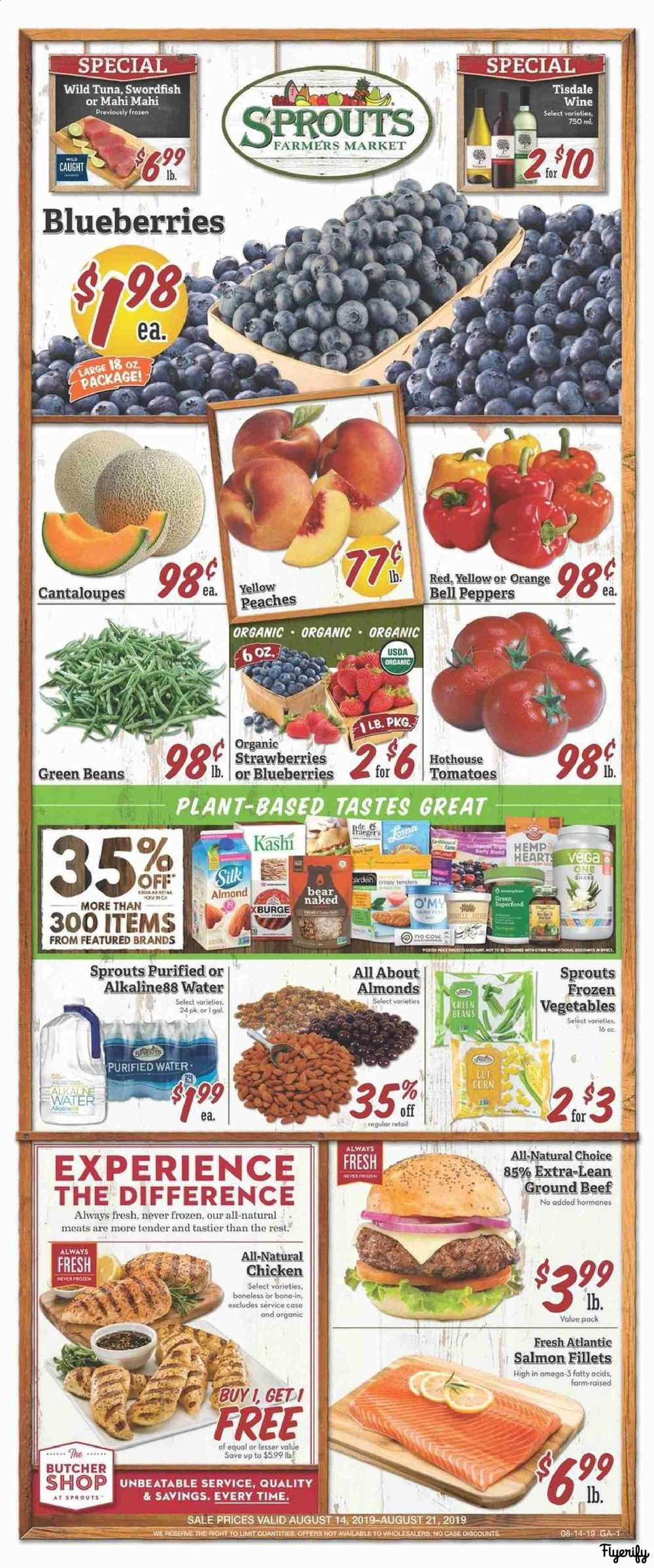 Sprouts (GA) Weekly Ad & Flyer August 14 to 21 Canada