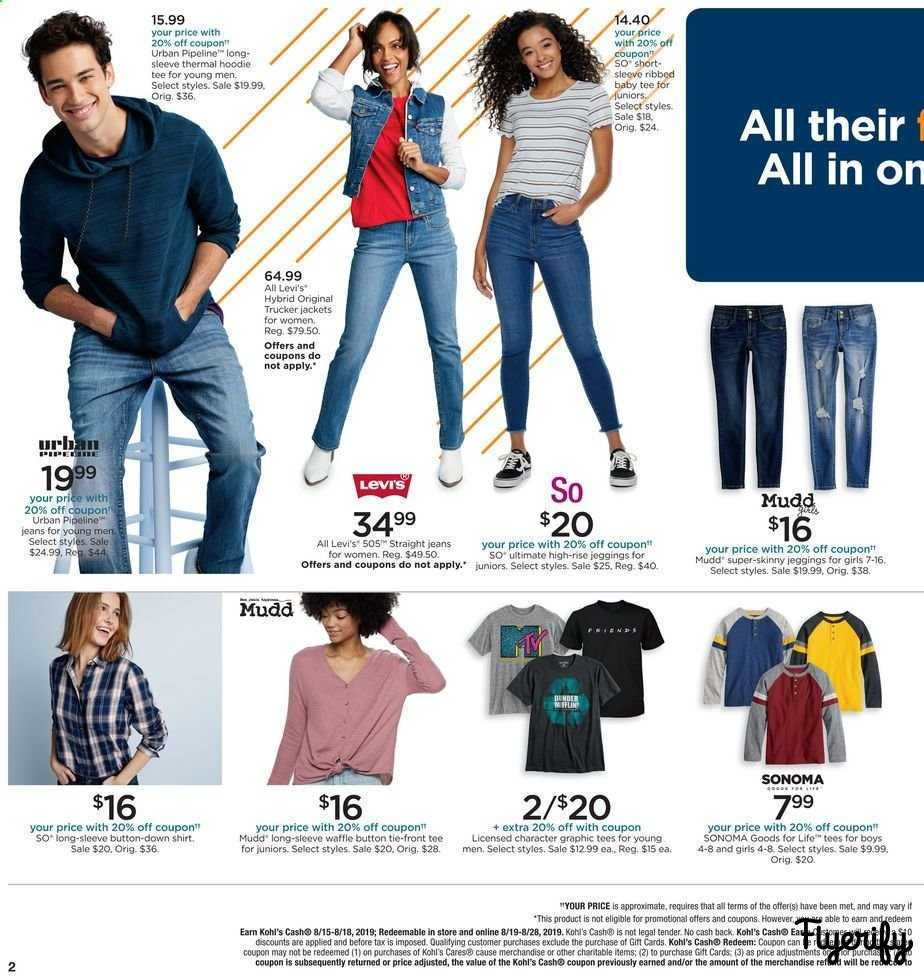 641add62471 Kohl's Weekly Ad & Flyer August 15 to 18 Canada