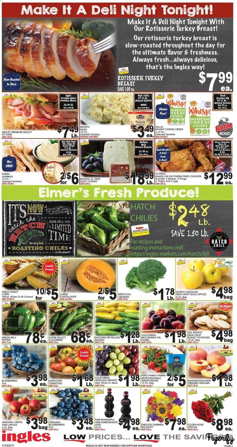 Ingles (NC - West) Weekly Ad & Flyer August 28 to September