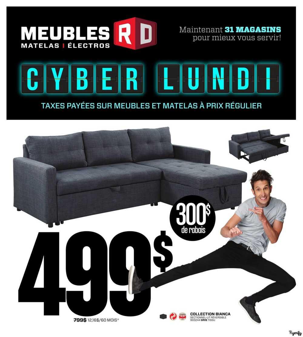 Meubles Rd Flyer December 2 To 4 Canada