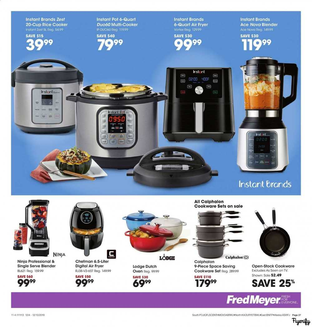 Fred Meyer Weekly Ad Flyer December 4 To 10 Canada
