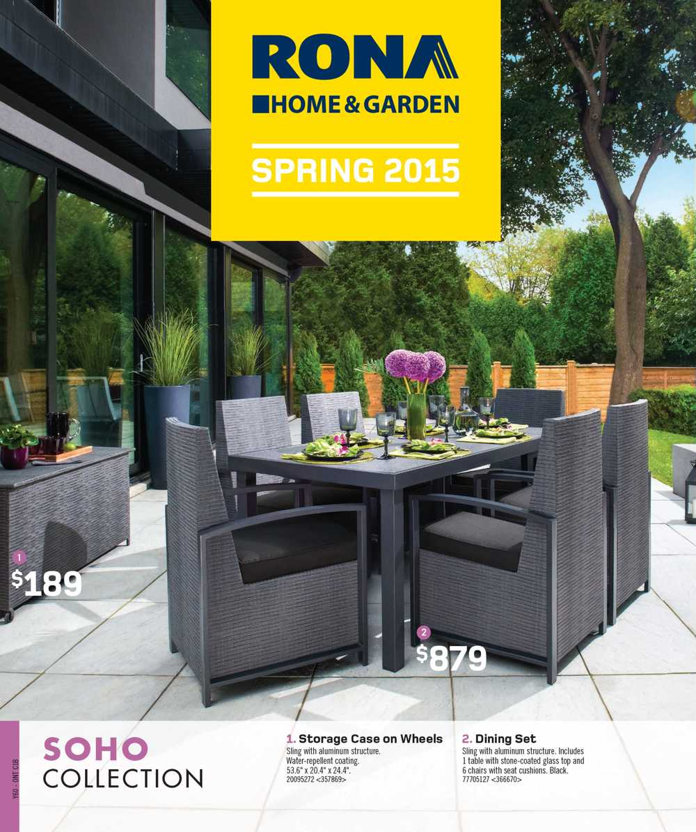 rona spring catalogue april 9 to july 9 canada