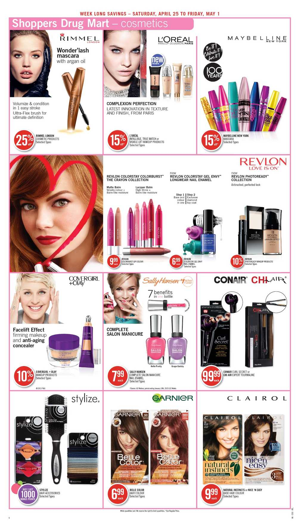 Shoppers Drug Mart Atlantic Flyer April 25 To May 1 Canada