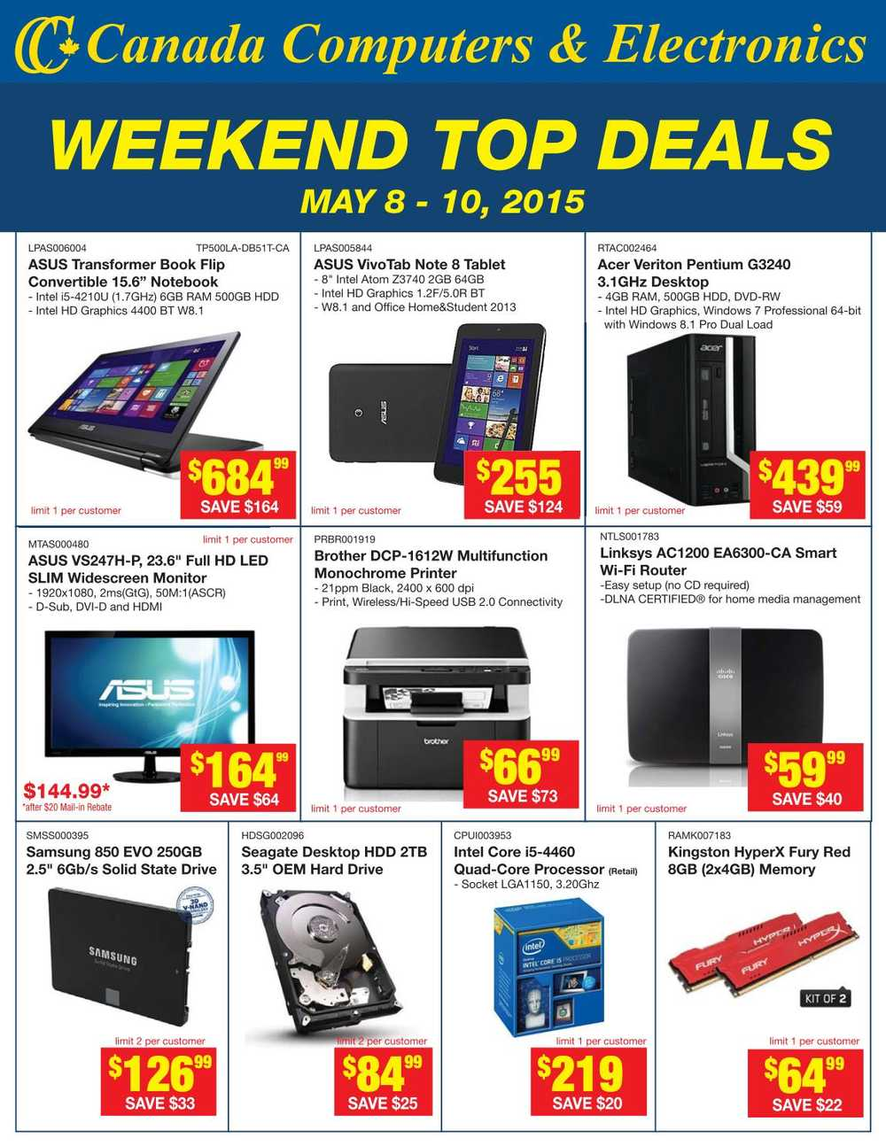 Laptop deals canada day
