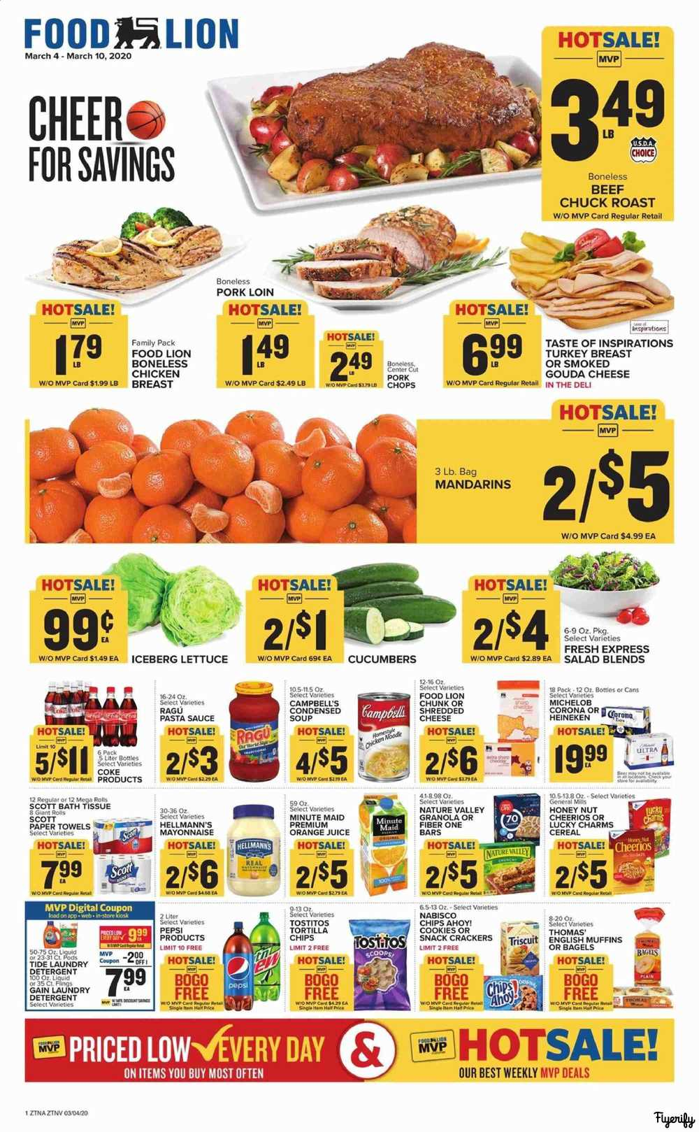 Food Lion Weekly Ad Flyer March 4 To 10 Canada