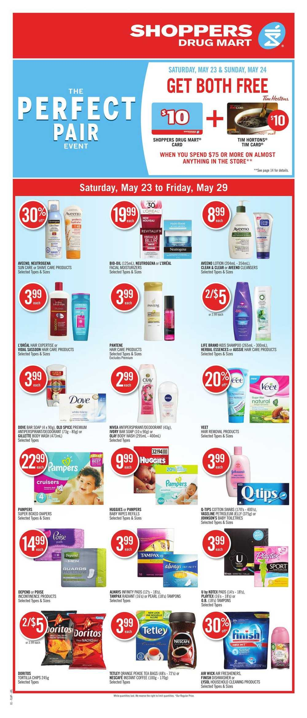 Shoppers Drug Mart & Pharmaprix Flyers