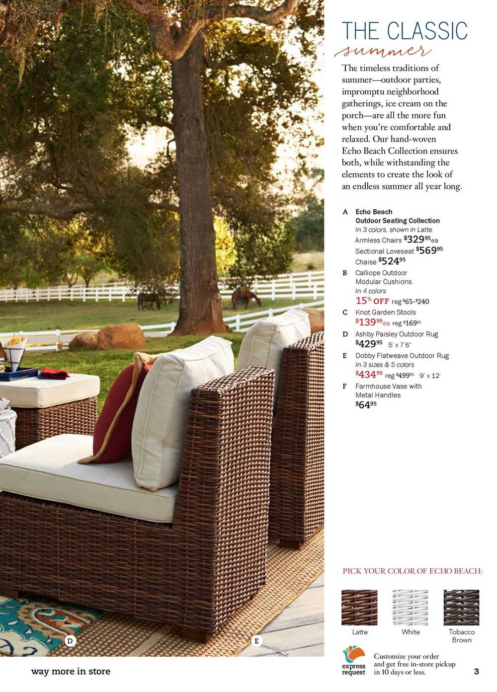 Pier 1 Imports Flyer June 1 to 25 Canada