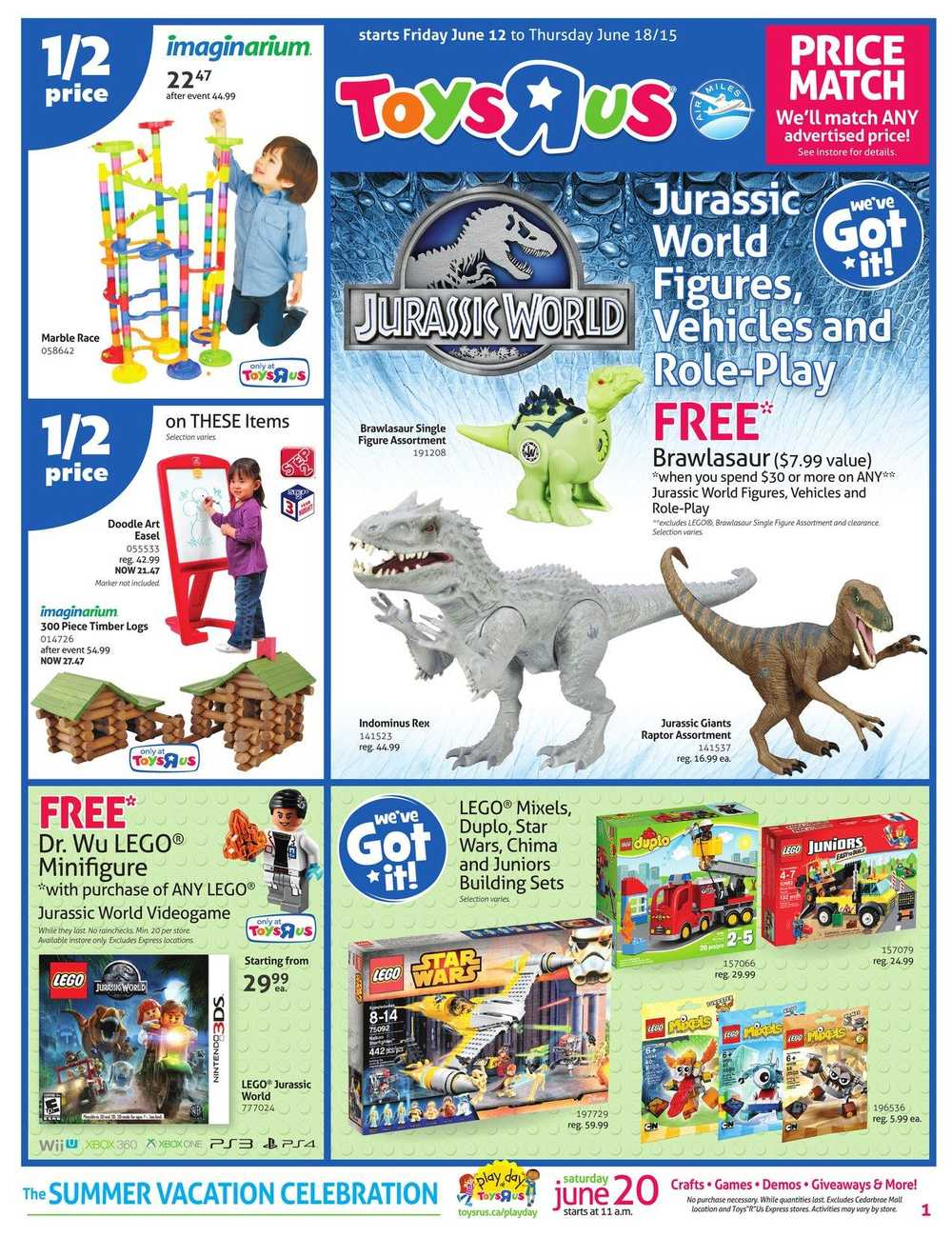 Toys R Us Flyer : Toys r us flyer june to canada