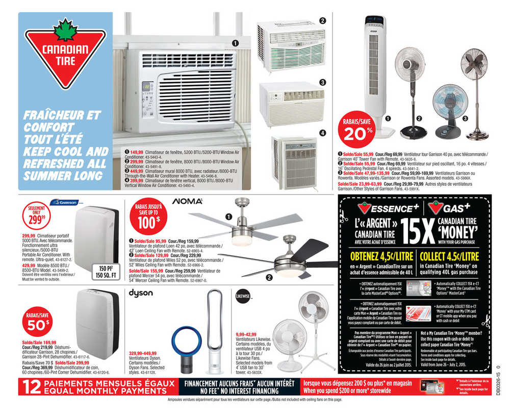 Canadian Tire (QC) Flyer June 26 to July 2 Canada