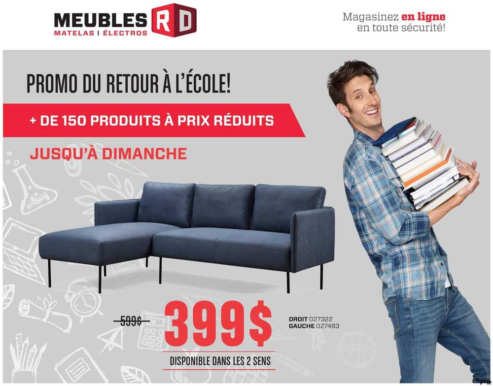 Meubles Rd Flyer August 10 To 16 Canada