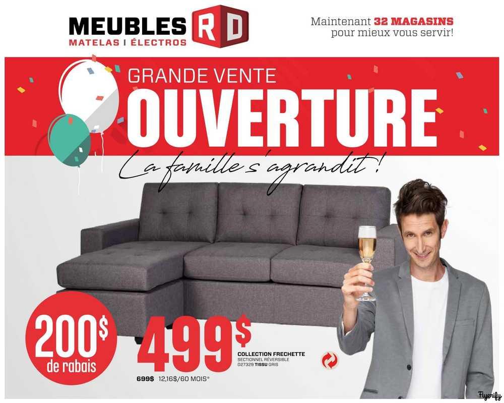 Meubles Rd Flyer September 8 To 27 Canada