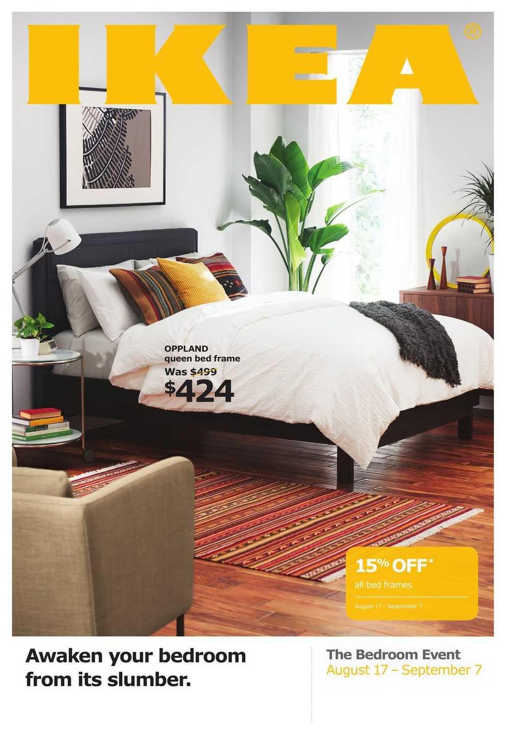 Ikea Bedroom Event Flyer August 17 To September 7 Canada