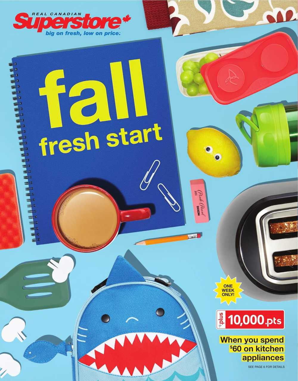 Real Canadian Superstore (ON) Fall Fresh Start Flyer August 21 to ...