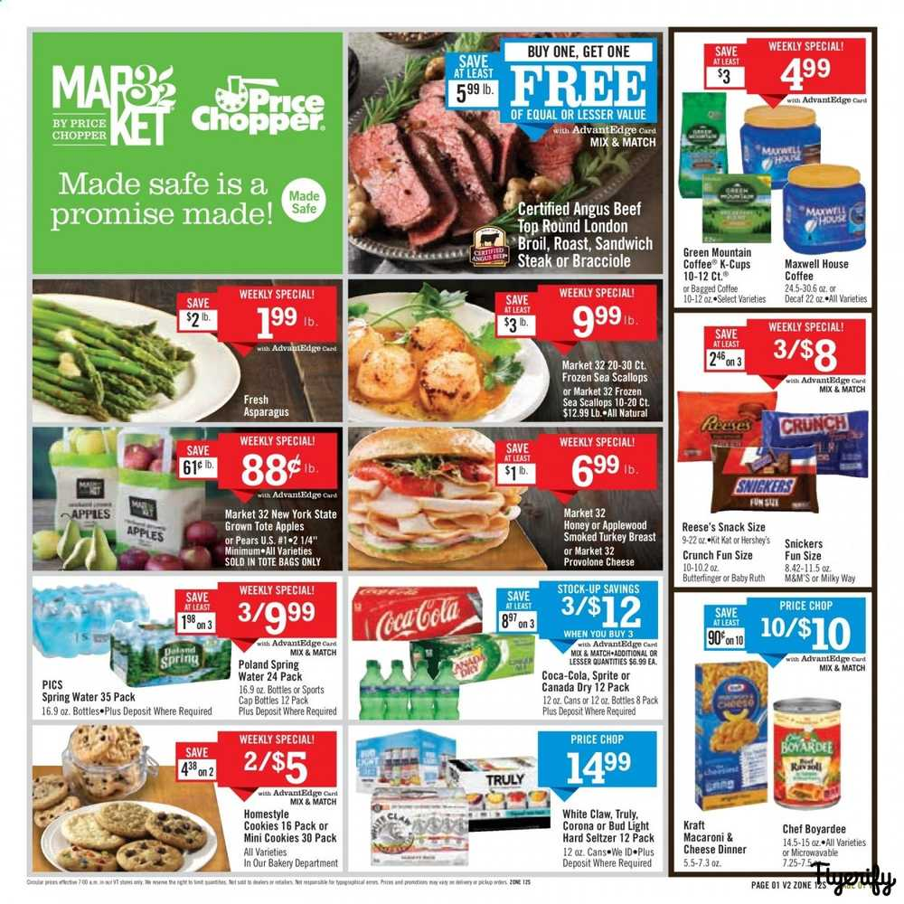 Price Chopper Made Safe Is A Promise Made Weekly Ad Flyer October 18 To November 1 Canada