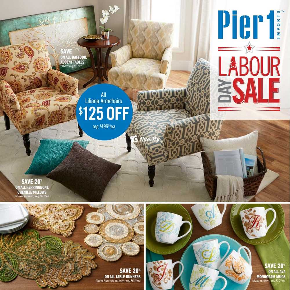 Pier 1 Imports Canada: Pier 1 Imports Flyer August 31 To September 27 Canada
