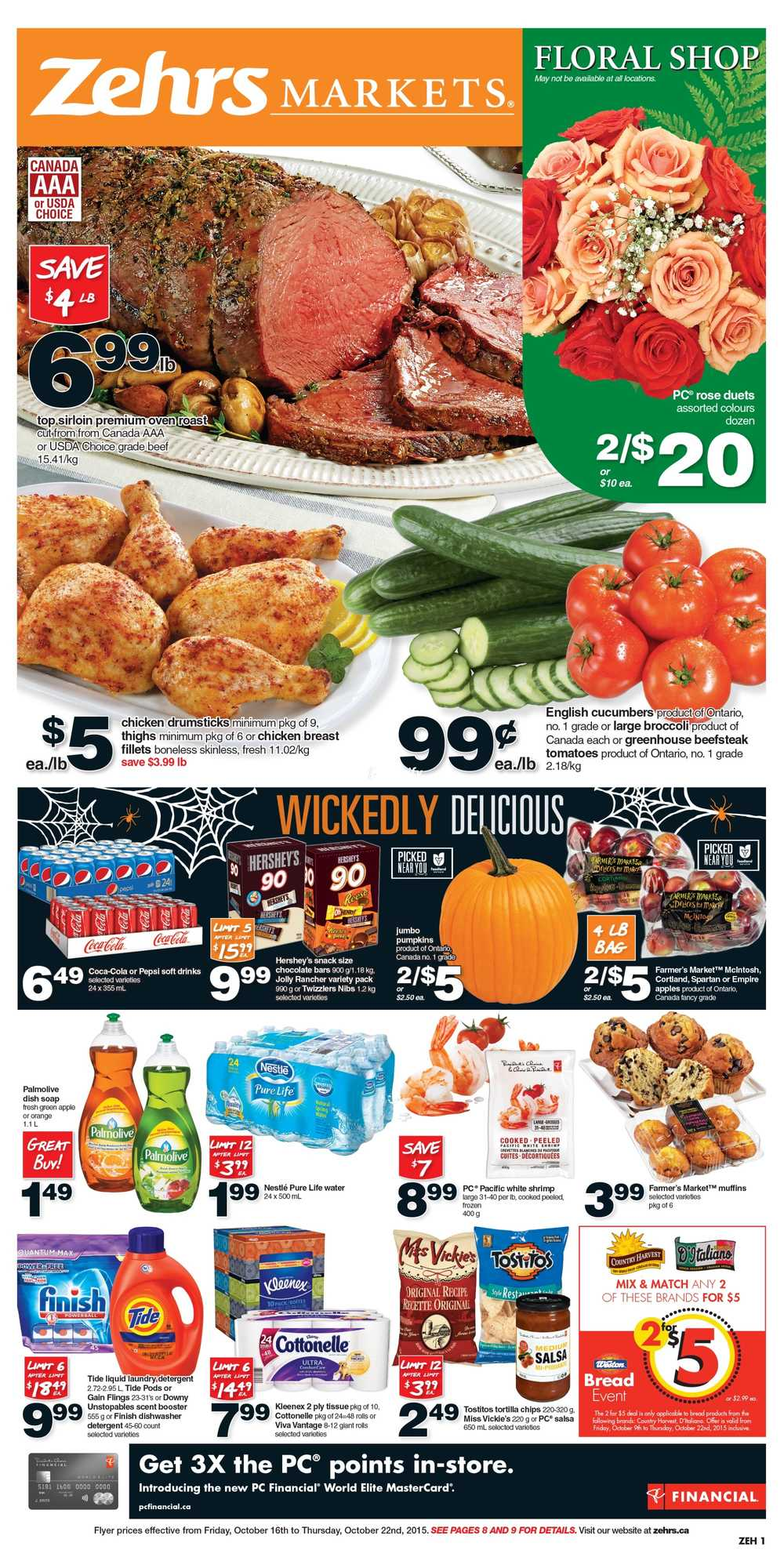 Zehrs Flyer October 16 to 22 Canada