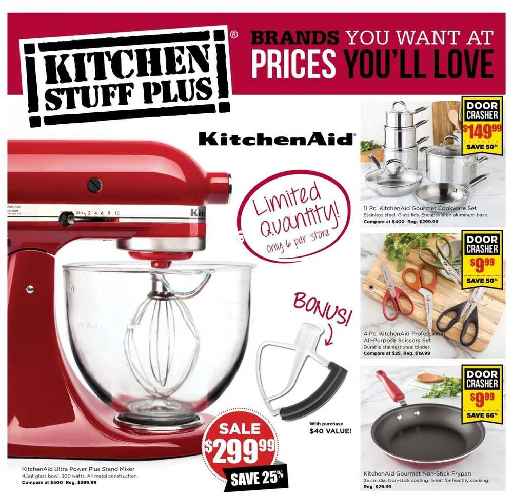 Kitchen Stuff Plus Flyer October 22 to November 1 Canada