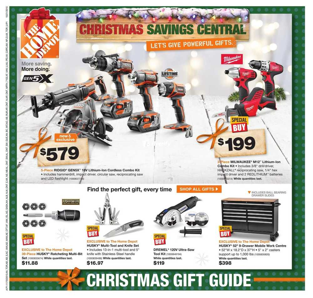 Home Depot (ON) Flyer November 19 to 25 Canada