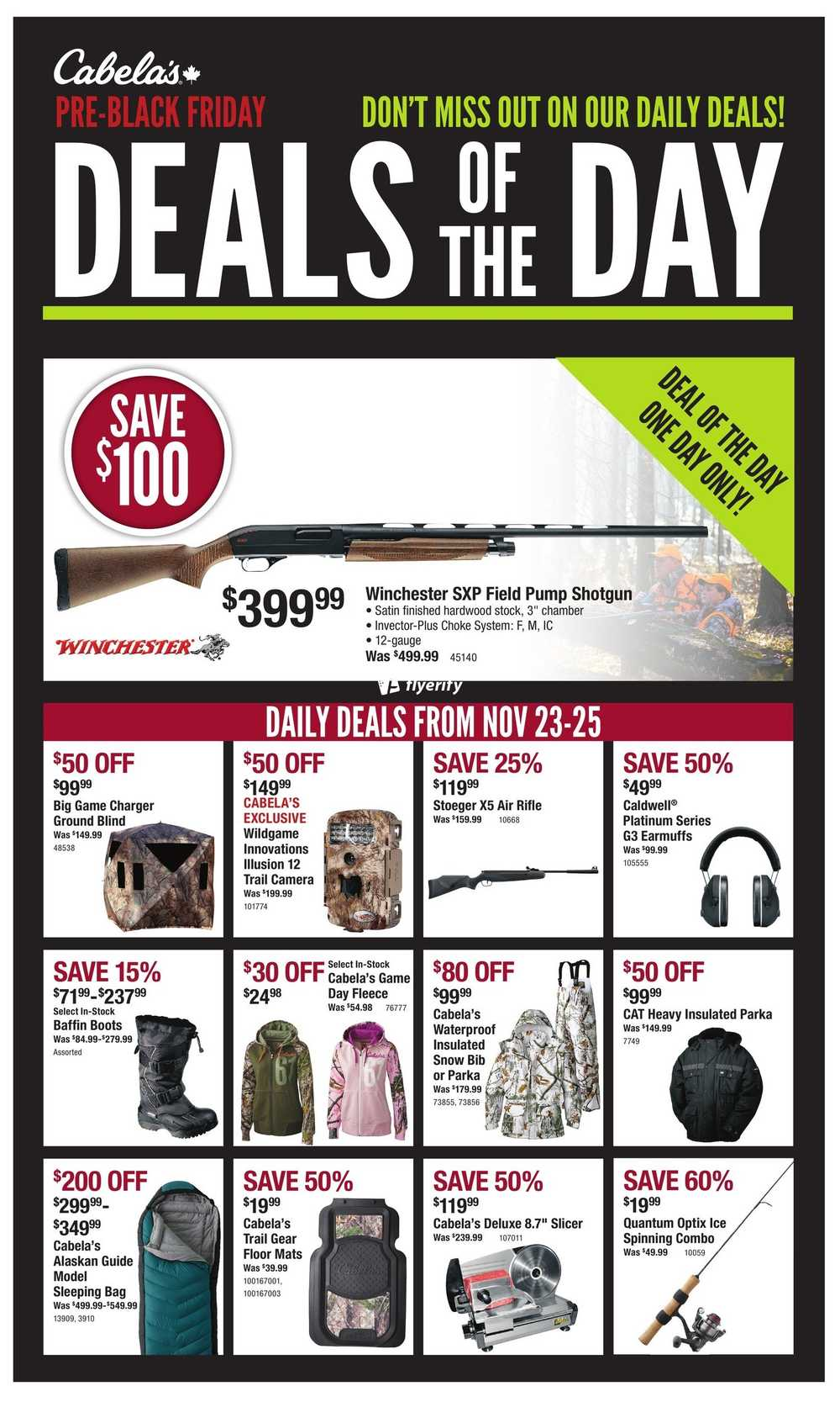 Welcome to the Outdoor Deal of Day site. We pull the deals automatically from over 68 of the 'One Deal At A Time' sites like zredbook.ml, Whiskey Militia, zredbook.ml, Department of Goods, Dogfunk, Chainlove, Patagonia, Sierra Trading Post and GearTrade.