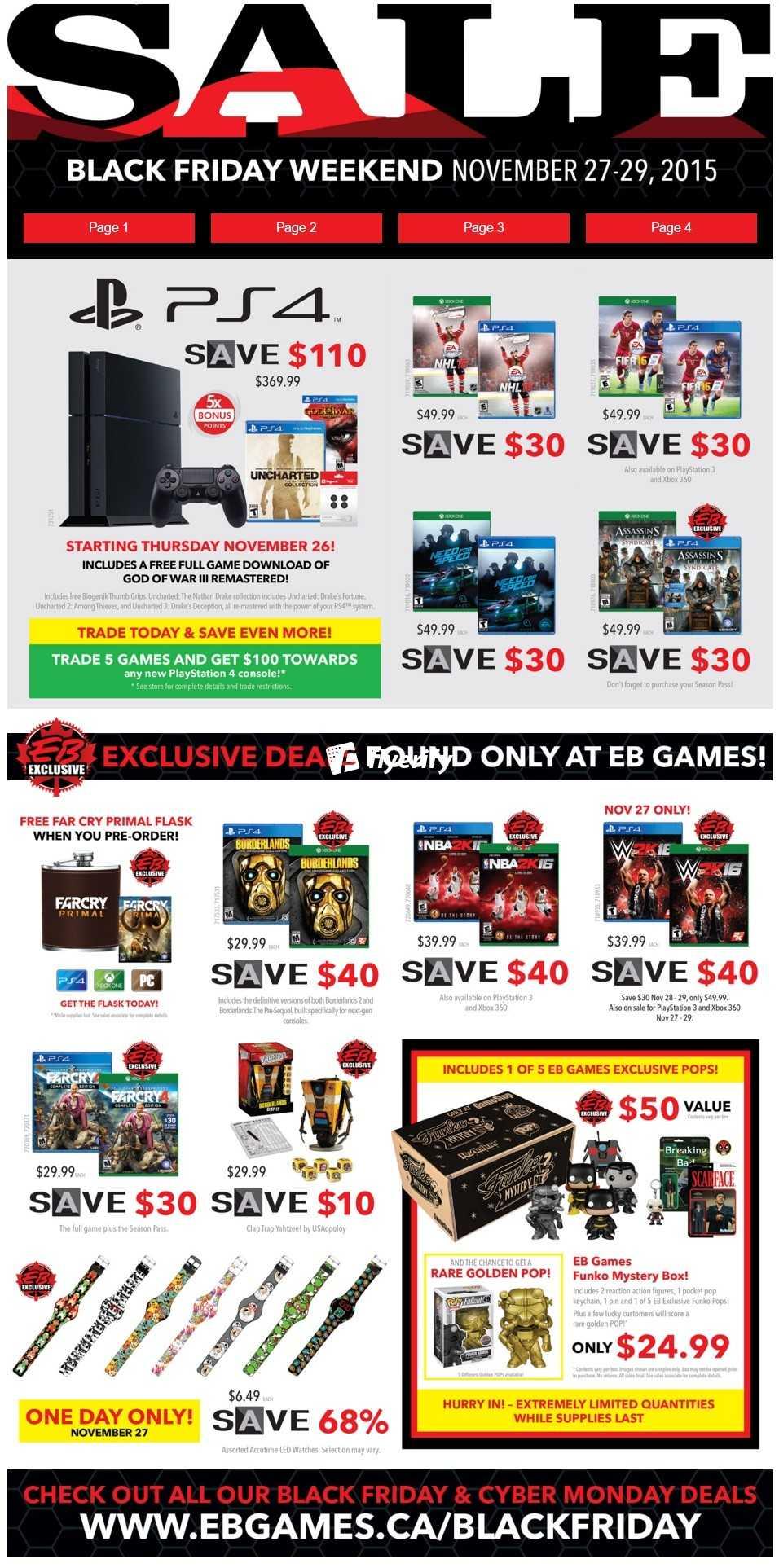 ecf44e471 EB Games Canada Black Friday Flyer Deals Canada