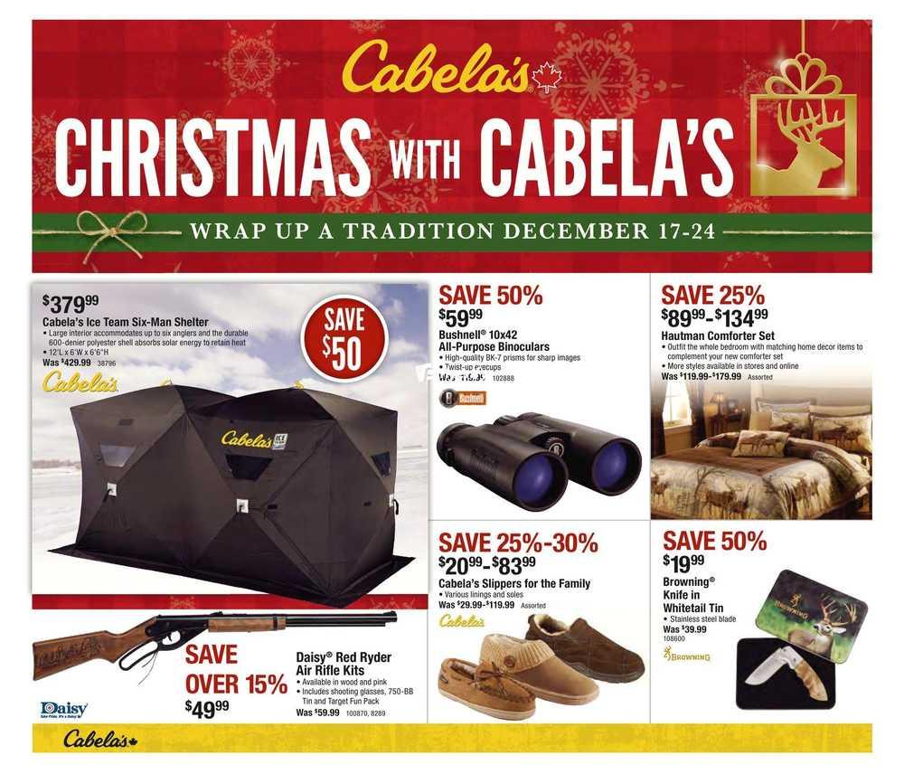 Cabelas Flyer December 17 To 24