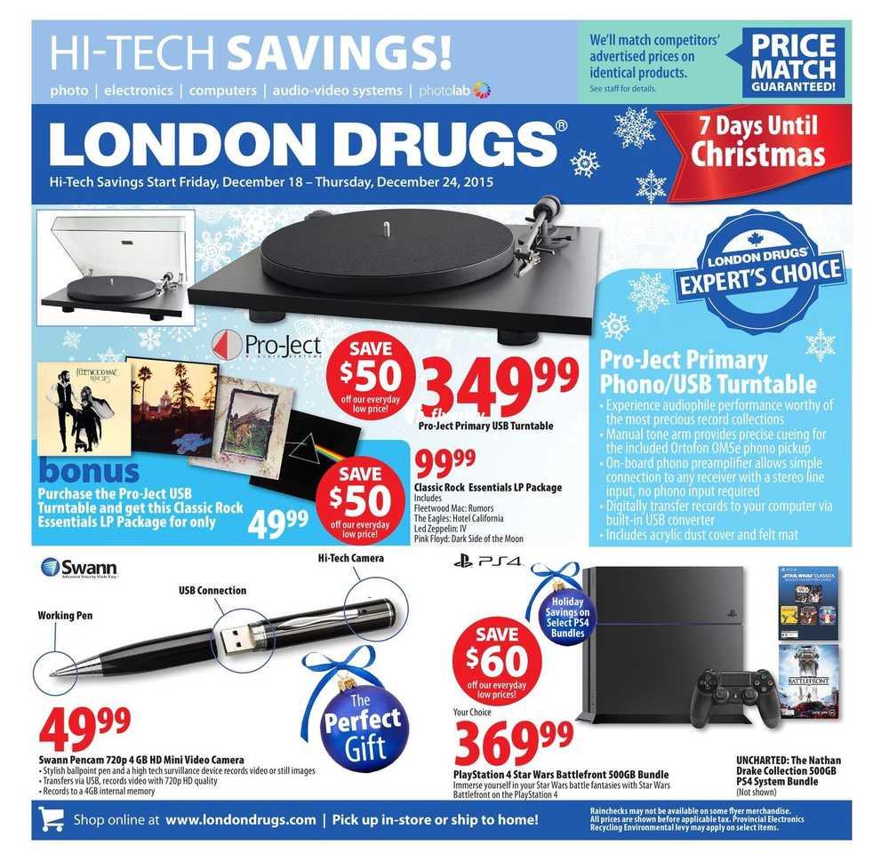 london drugs hi tech savings flyer december 18 to 24 canada. Black Bedroom Furniture Sets. Home Design Ideas