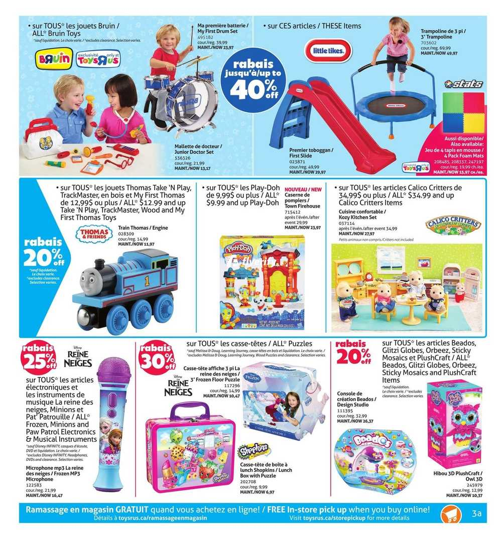 Toys R Us (QC) Flyer January 8 to 21 Canada