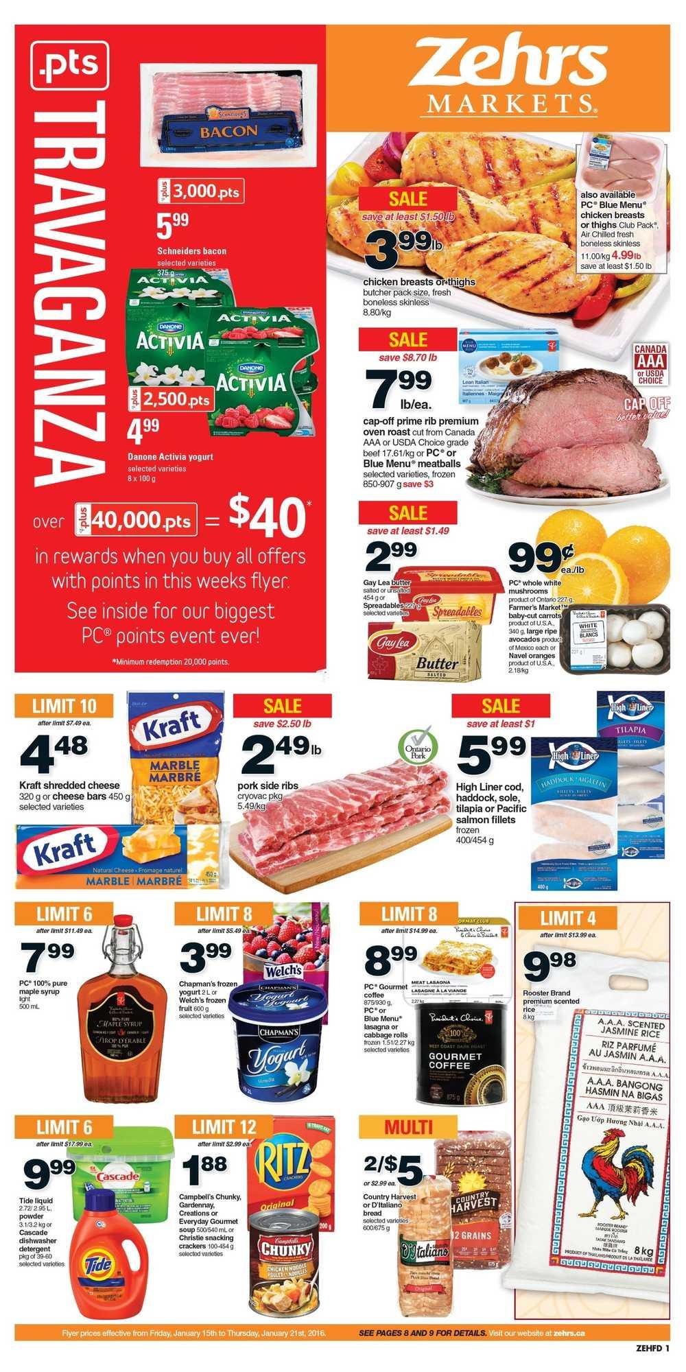 Flyerland Hamilton Walmart Zehrs Flyer January To
