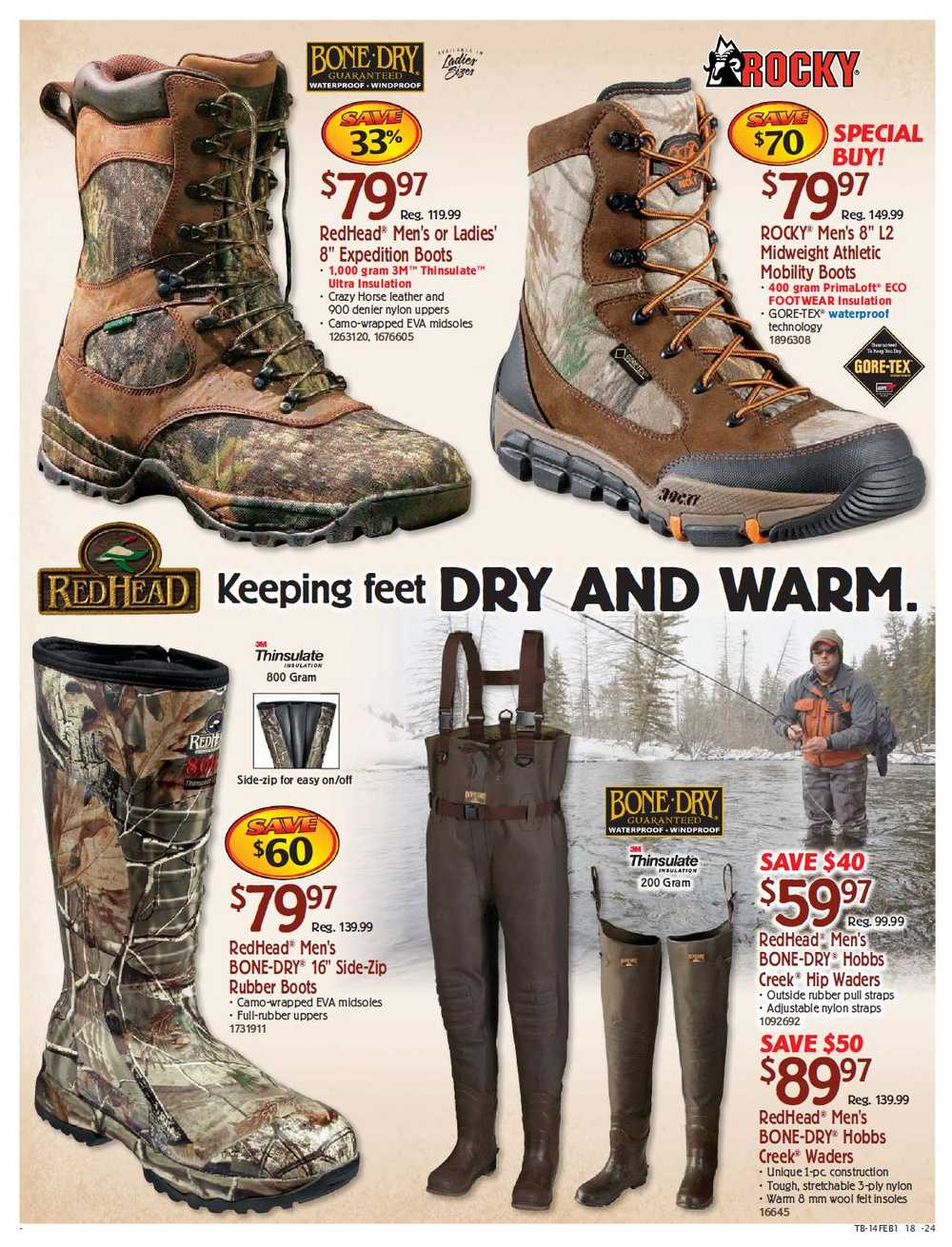 outlet store c9730 fe37a Bass Pro Shops flyer January 20 to February 27 Canada
