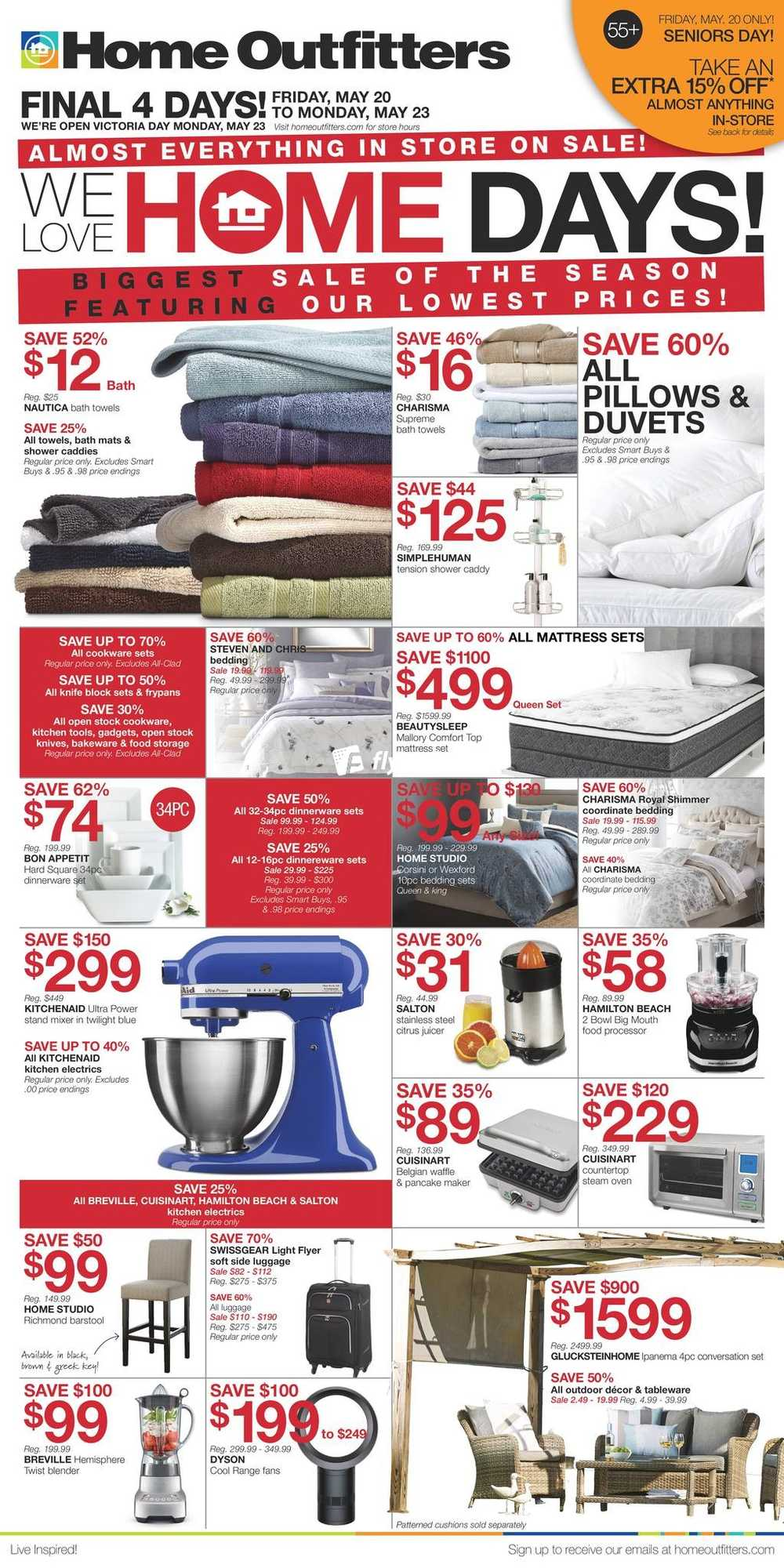 Home Outfitters Flyer May 20 To 26 Canada