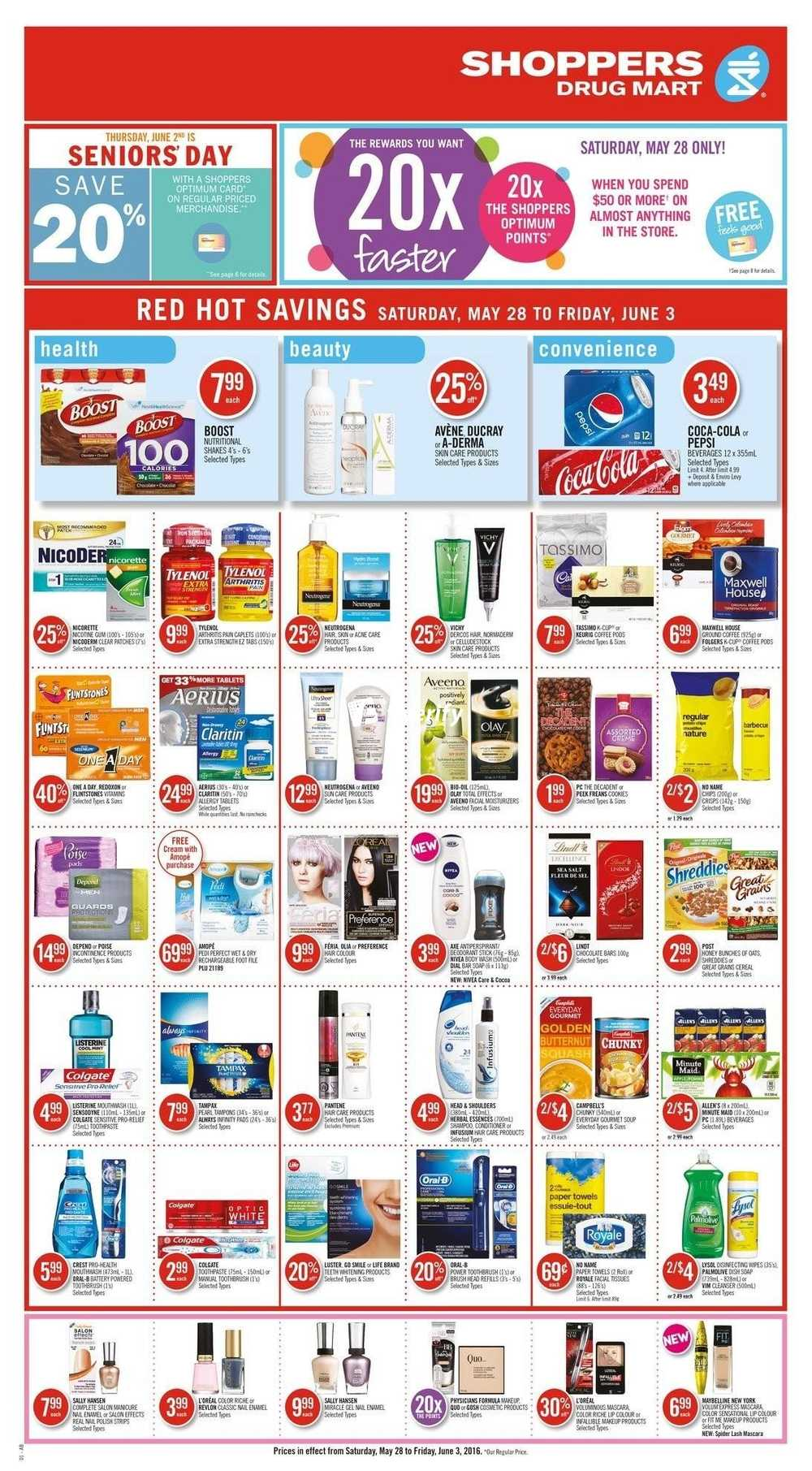 Shoppers Drug Mart (ON) Flyer May 28 to June 3 Canada