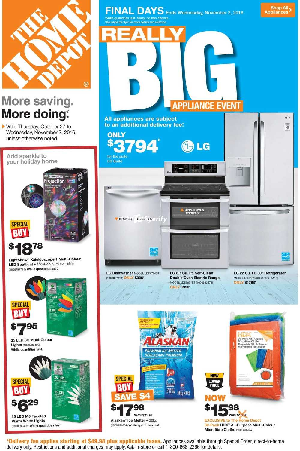 Home Depot On Flyer October 27 To November 2 Canada