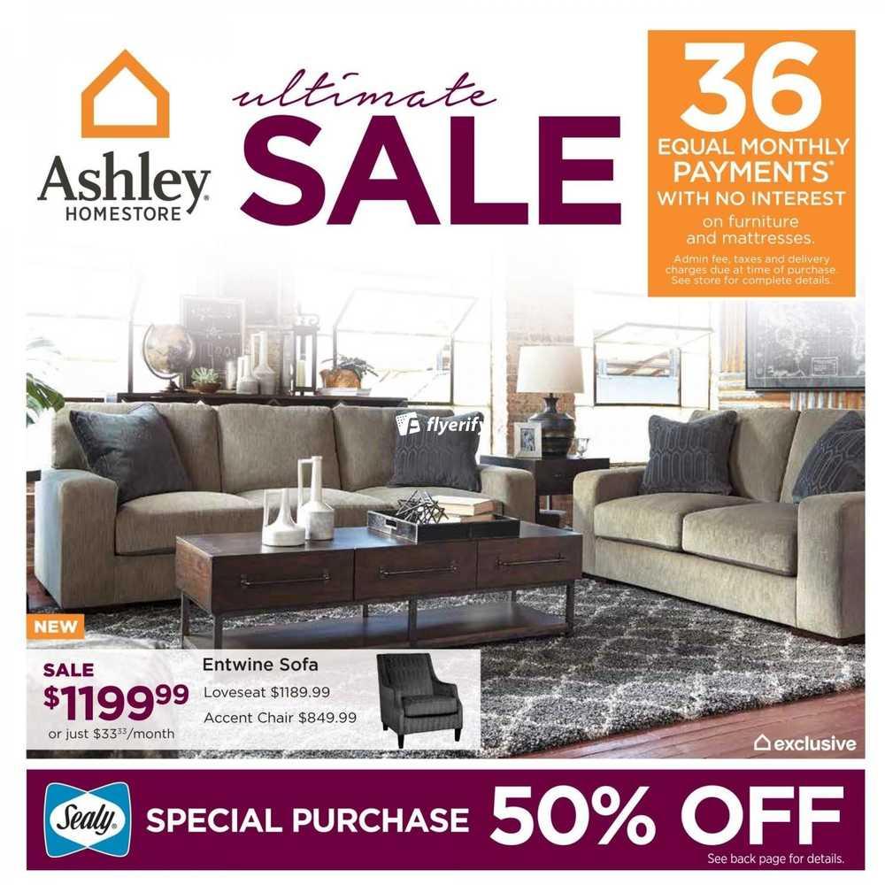 Www Ashley Furniture Store Com: Ashley HomeStore (ON) Flyer November 3 To 16 Canada