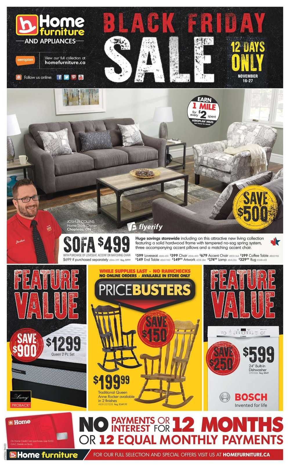 Home Furniture Flyers
