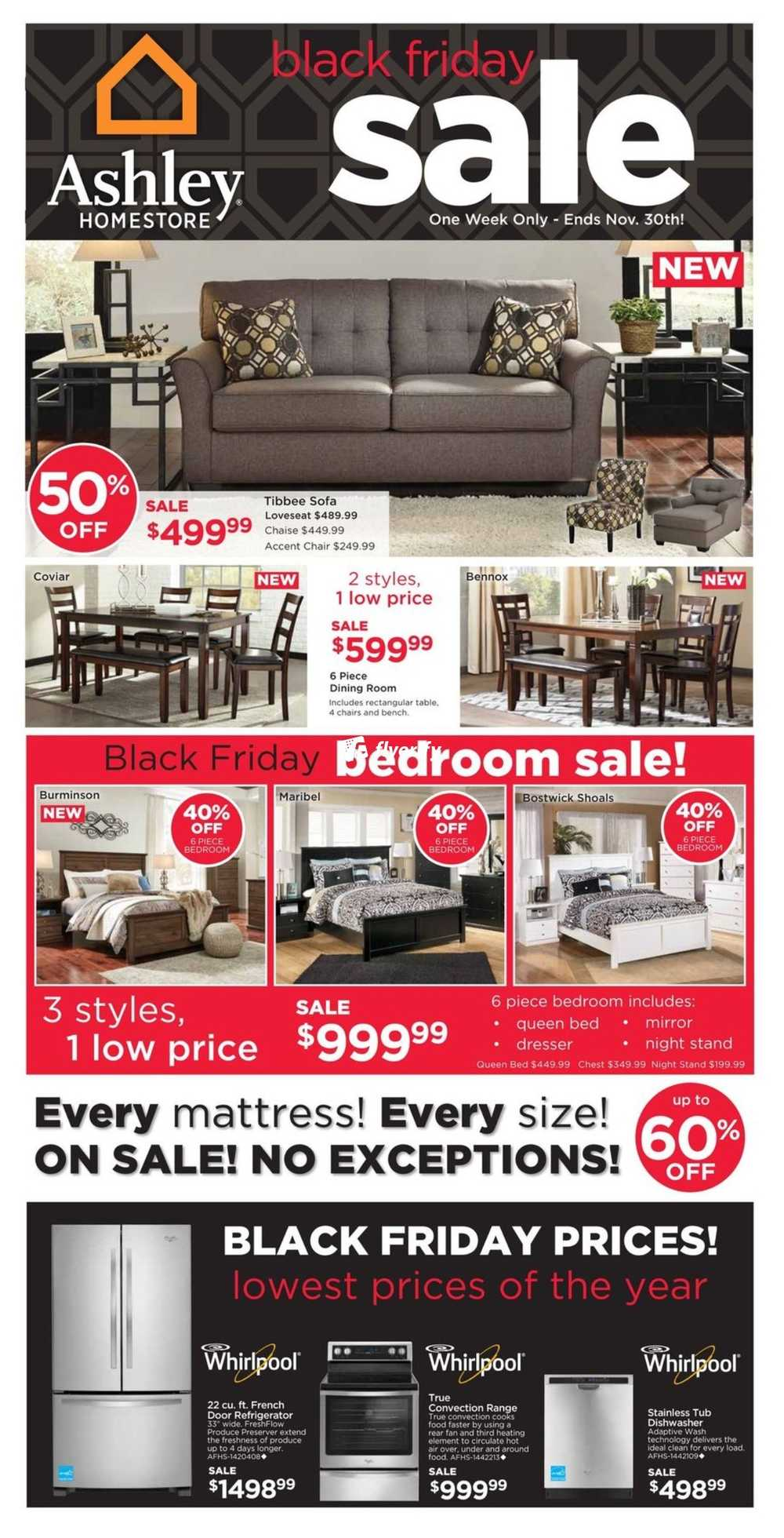 Ashley homestore west black friday flyer november 24 to for Ashley furniture homestore canada