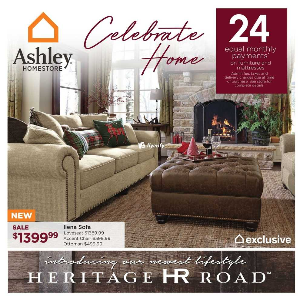 Ashley Homestore (West) Flyer December 1 To 14 Canada
