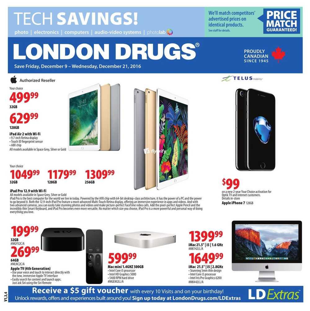 London Drugs Tech Savings Flyer December 9 to 21 Canada