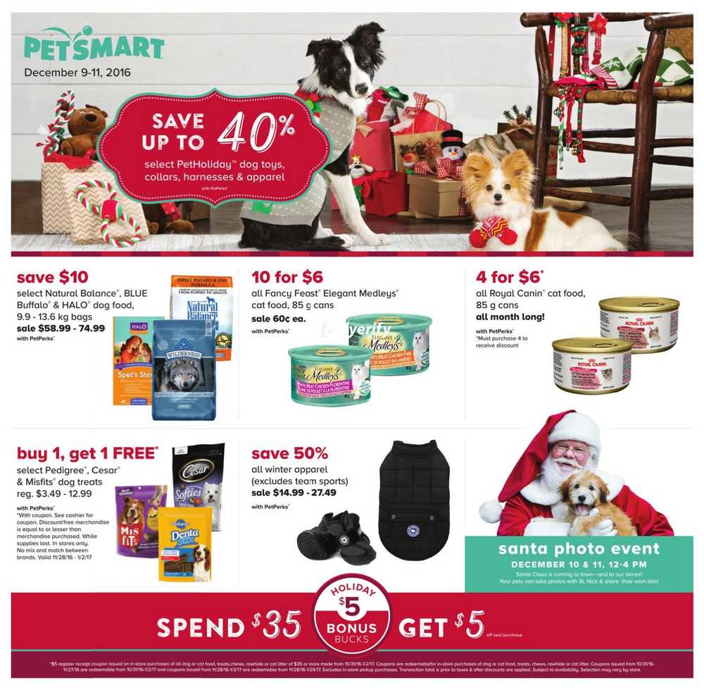 Petsmart Flyer December 9 To 11 Canada