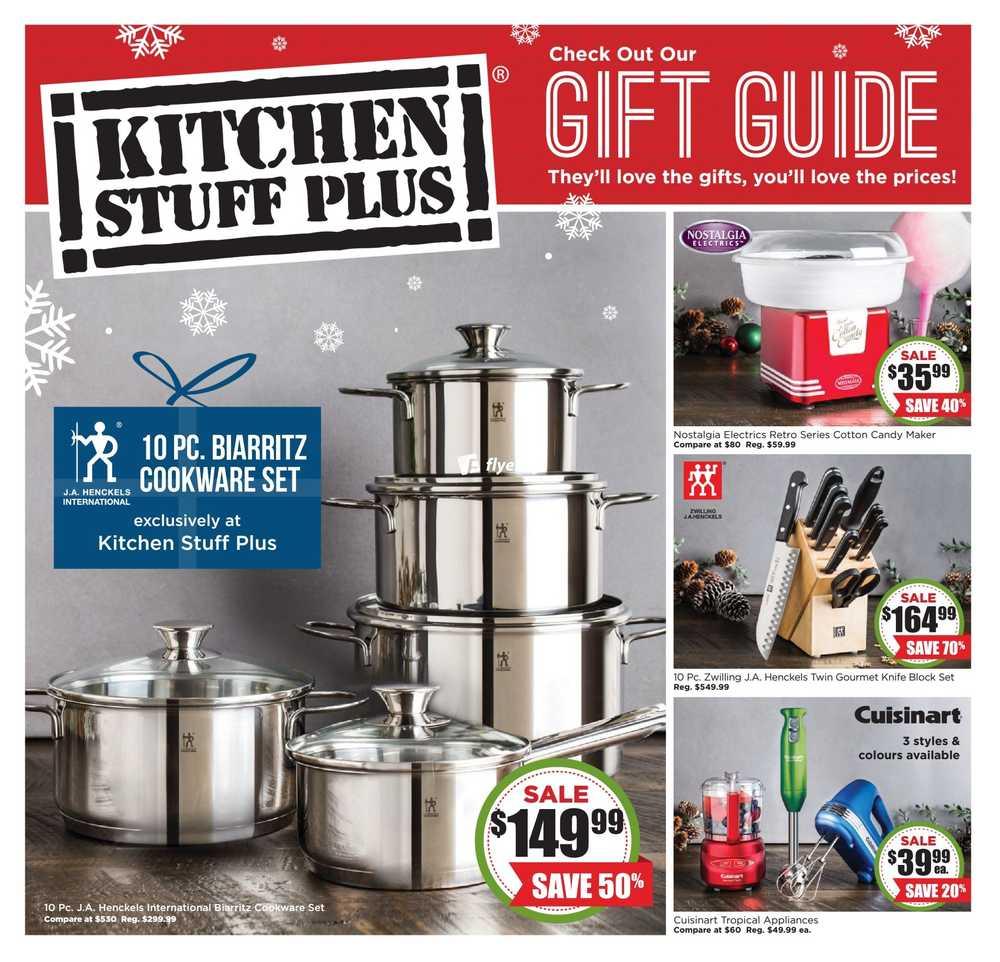 Kitchen stuff plus flyer december 15 to 24 canada