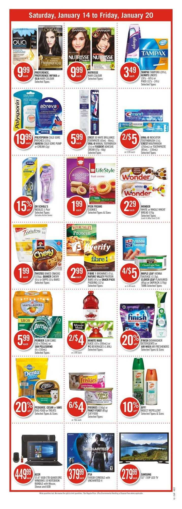 Shoppers Drug Mart West Flyer January 14 To 20 Canada
