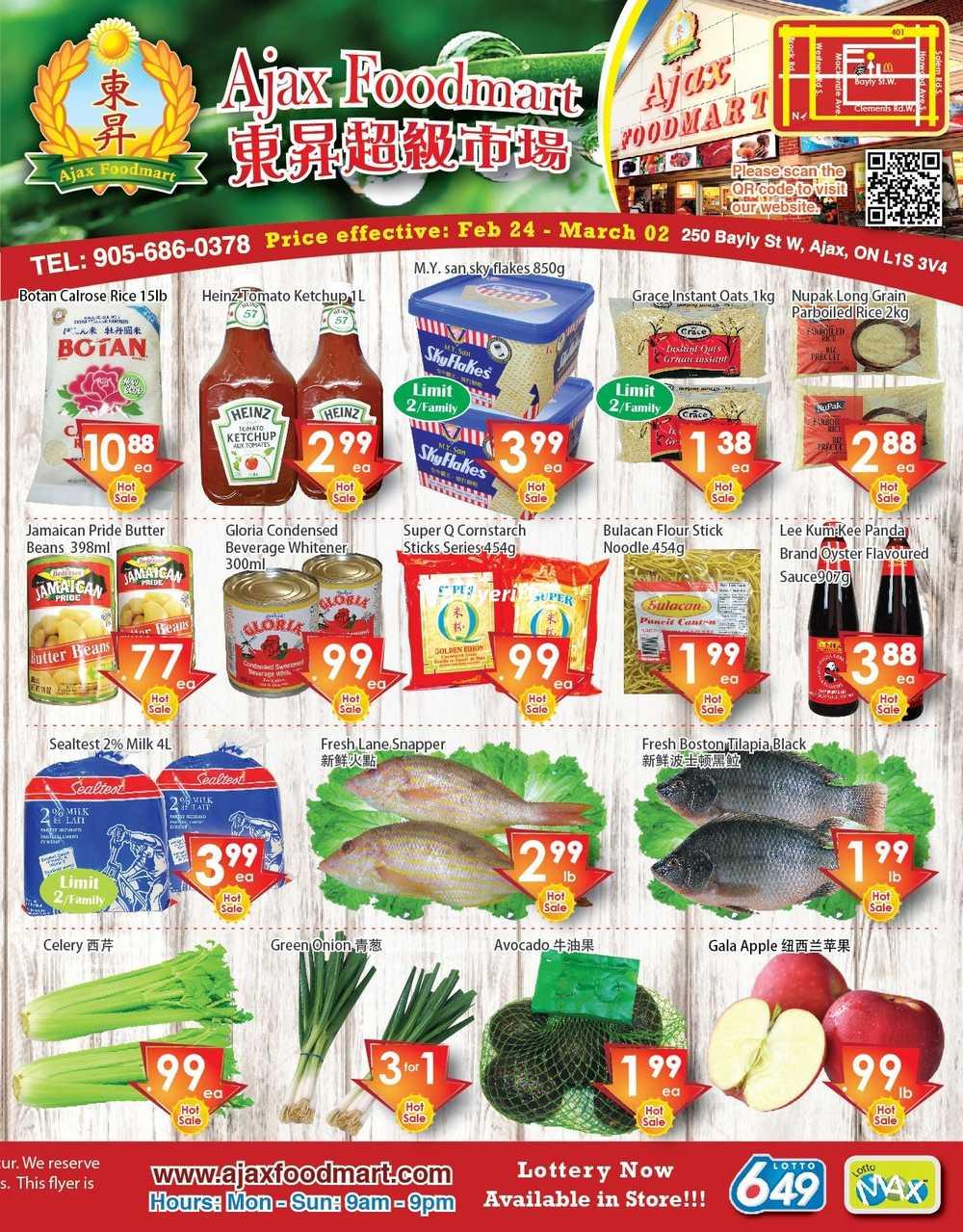 Ajax Food Market Flyer