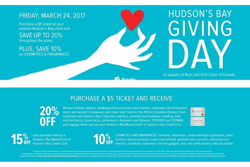 Hudson S Bay Flyer March 24 To 30 Canada