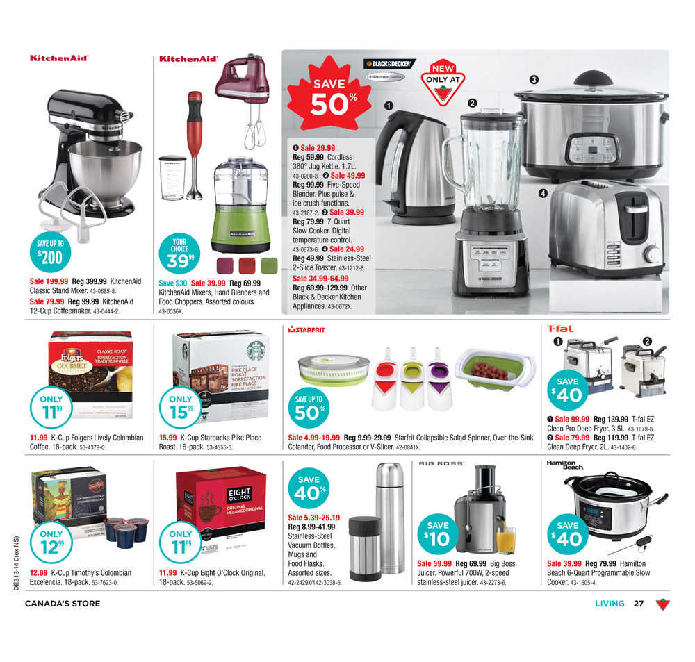 Uncategorized Canadian Tire Small Kitchen Appliances canadian tire on flyer march 21 to 27 canada comments