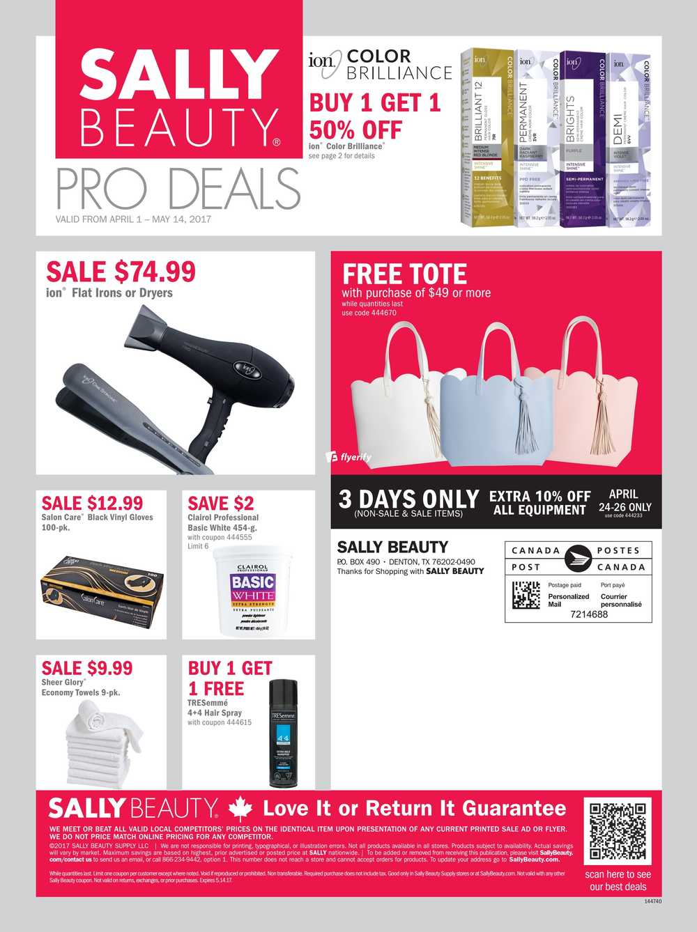 sally beauty supply flyers sally beauty supply pro flyer 1 to 14