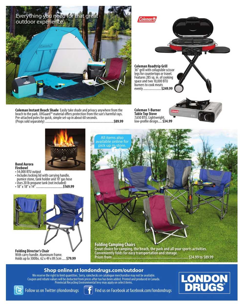 Previous · ‹ - London Drugs Outdoor Living Catalogue April 14 To July 15 Canada