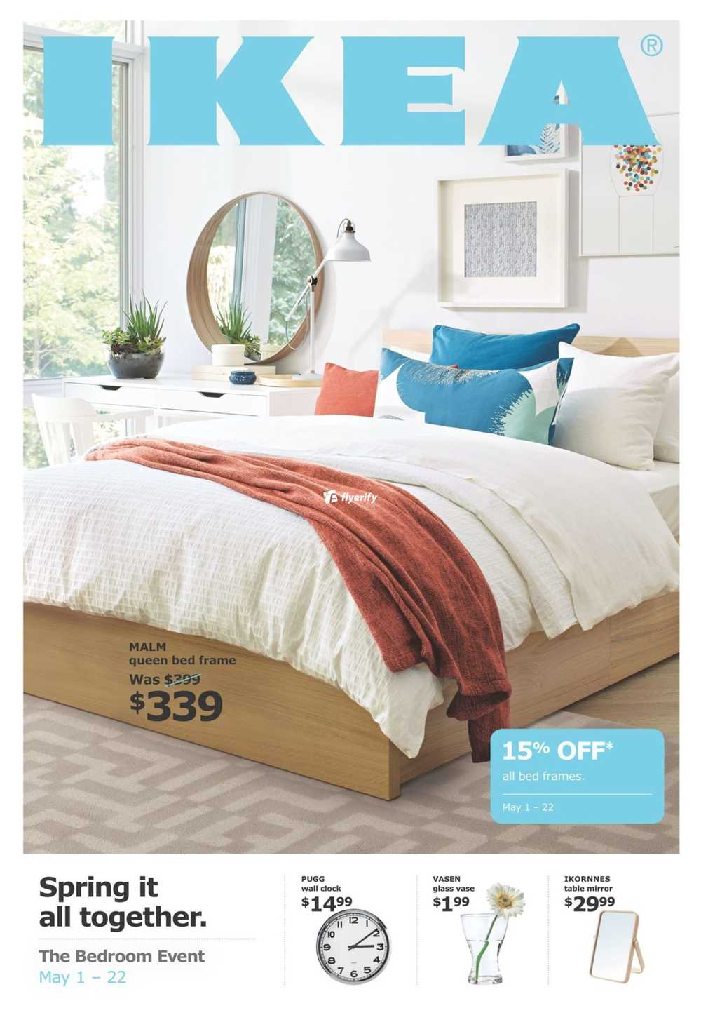 Ikea The Bedroom Event Flyer May 10 to 10 Canada